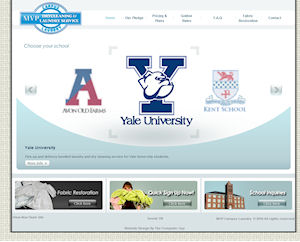 MVP Campus Laundry Flash Website Design By The Computer Guy