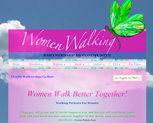 Women Walking PHP intergration & Website Design By The Computer Guy